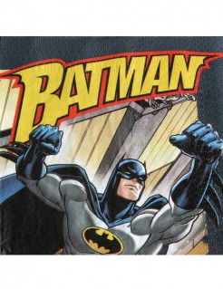 Batman™ Servietten 20 Stück bunt 33x33cm