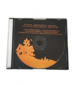 Halloween-CD orange-schwarz