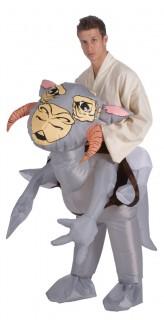 Tauntaun™-Kostüm Star Wars™ aufblasbar grau