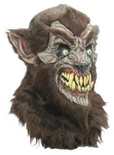 Halloween Werwolf-Vollmaske Tierkostüm Zubehör