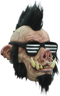 Punkige Wildschwein-Maske für Erwachsene