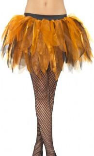 Petticoat Tutu orange-schwarz