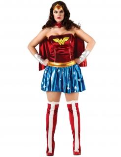 Wonder Woman™-Übergrößenkostüm für Damen bunt