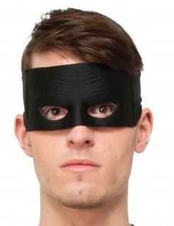 Zorro™-Maske Lizenzartikel schwarz