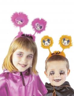 Mickey Mouse™ Haarreif Halloween-Accessoire für Kinder Disney Lizenzartikel orange