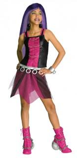 Monster High™-Kostüm Spectra Vondergeist für Mädchen schwarz-pink
