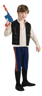 Han Solo™-Kinderkostüm Star Wars™ schwarz-blau-beige