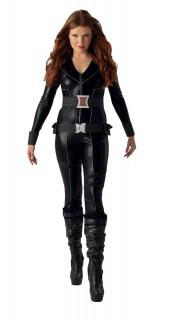 Black Widow™-Kostüm für Damen Marvel™ schwarz