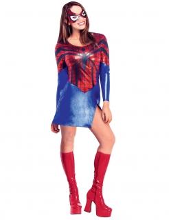 Spider Girl™-Damenkostüm blau-rot