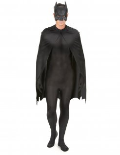 Batman™ Accessoire-Set Umhang und Maske Halloween-Accessoire schwarz