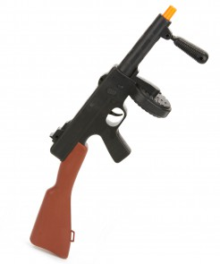 Spielzeug-Waffe Maschinengewehr mit Geräuschen