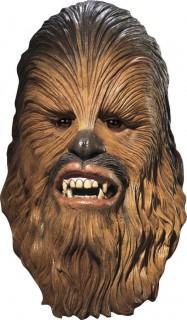 Chewbacca™-Maske Star Wars™-Lizenzmaske braun