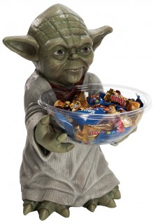 Yoda™-Bonbonschale Star Wars™-Lizenzartikel 50cm