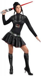 Sexy Darth Vader™-Damenkostüm schwarz