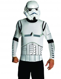 Star Wars™ Stormtrooper Kostümset für Erwachsene Lizenzware weiss-schwarz