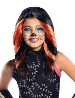 Monster High Skelita Calaveras Kinder Perücke Lizenzware schwarz-orange