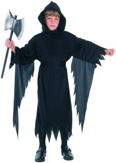 Gruseliger Henker Halloween-Kinderkostüm schwarz