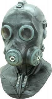 Maske Gasschutz - Hand bemalt