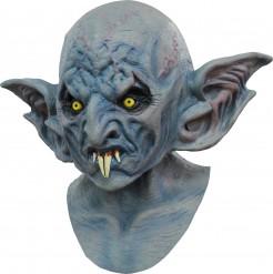 Fledermaus Halloween-Maske Vampir blau