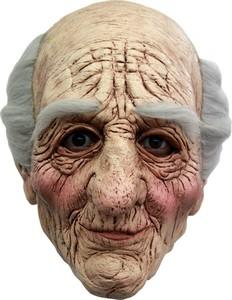 Greisen Maske Alter Mann Maske hautfarben