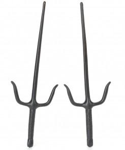 Ninja-Messer Kostüm-Accessoires 36 cm schwarz