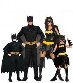 Batman™-Gruppenkostüm schwarz-gelb