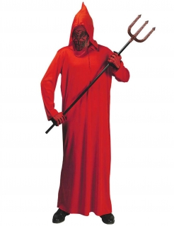 Dämonen-Robe Teufel-Kinderkostüm rot