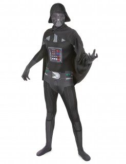 Star Wars™ Second Skin-Suit Darth Vader Lizenzware schwarz