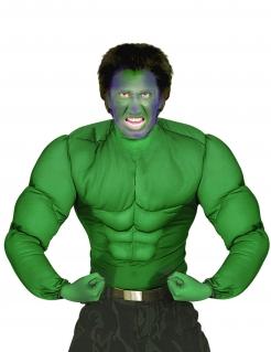 Muskelanzug Superheld grün