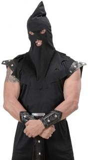 Henker-Mütze Gugel schwarz