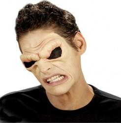 Dämonenwülste Set Halloween Augen hautfarben-schwarz