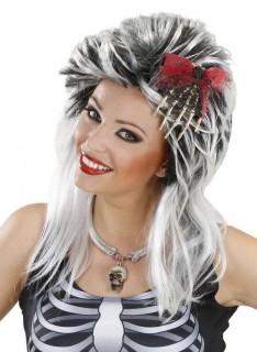 Halloween Skelett-Knochenhand Haarschmuck