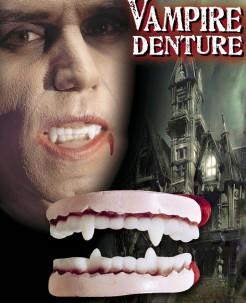 Halloween Vampir-Gebiss Zähne