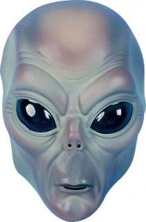 Alien Maske Außerirdischen Maske für Kinder braun-blau