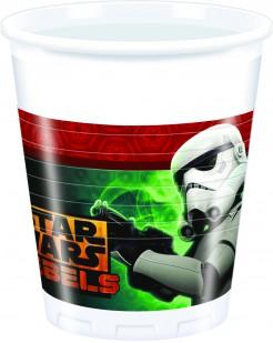 Star Wars Rebels™ Plastikbecher 8 Stück bunt 200ml