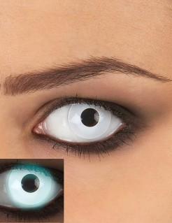 UV Kontaktlinsen weiss