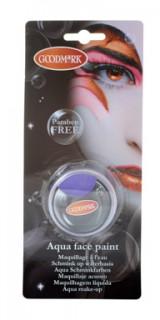 Aqua Makeup in der Dose Schminke violett 14g