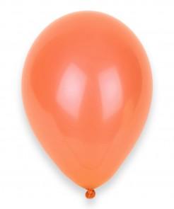 Halloween-Luftballons 12 Stück lachsfarben 28 cm