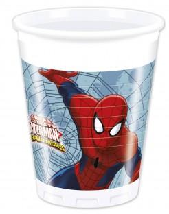 Spider-Man™ Kunststoffbecher 8 Stück bunt 200ml