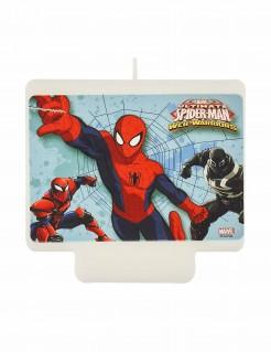Spider-Man™ Geburtstagskerze bunt 9 x 7 cm