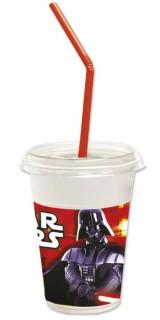 Milchshake-Becher Star Wars™ Darth Vader 12 Stück bunt