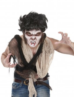 Halloween Make-up Set Werwolf 6-teilig bunt