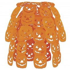 Halloween-Hängedekoration Kürbisse orange 61cm