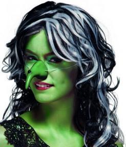 Hexennase Kostümaccessoire Halloween grün