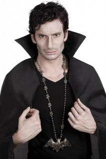 Gothic Vampir Halskette Fledermaus bronze