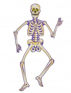 Halloween Skelett Hängedeko Partydeko 89cm