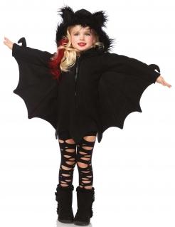 Süsse Fledermaus Halloween-Kinderkostüm schwarz