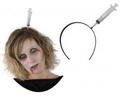 Haarreif mit Spritze