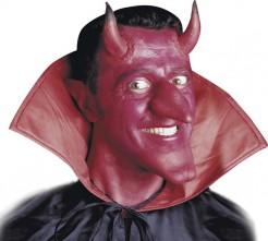 Teufelshörner Halloween-Accessoire rot-schwarz