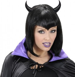 Schwarze Teufelshörner schwarz